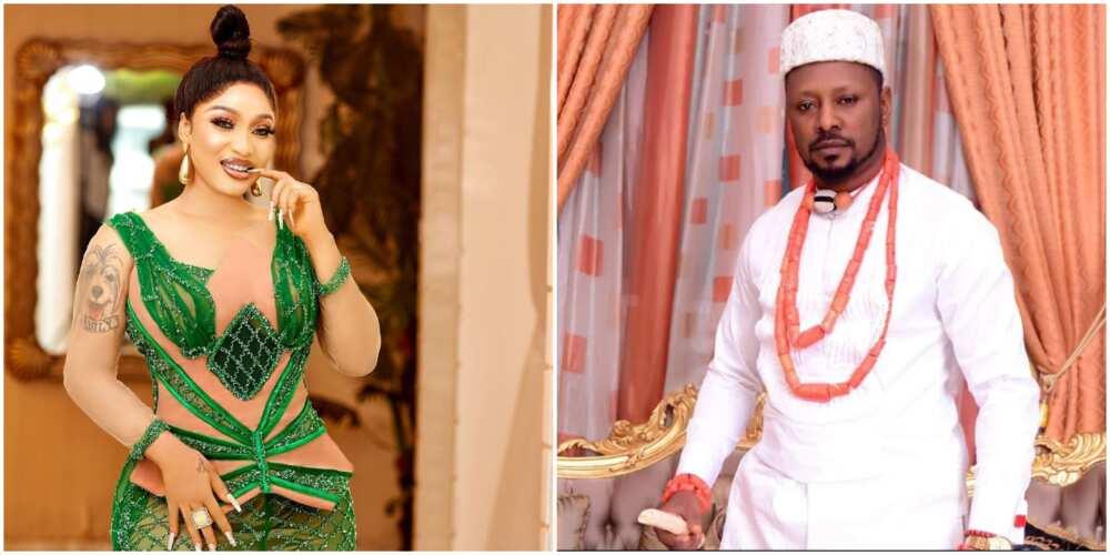 Actress Tonto Dikeh and her new man