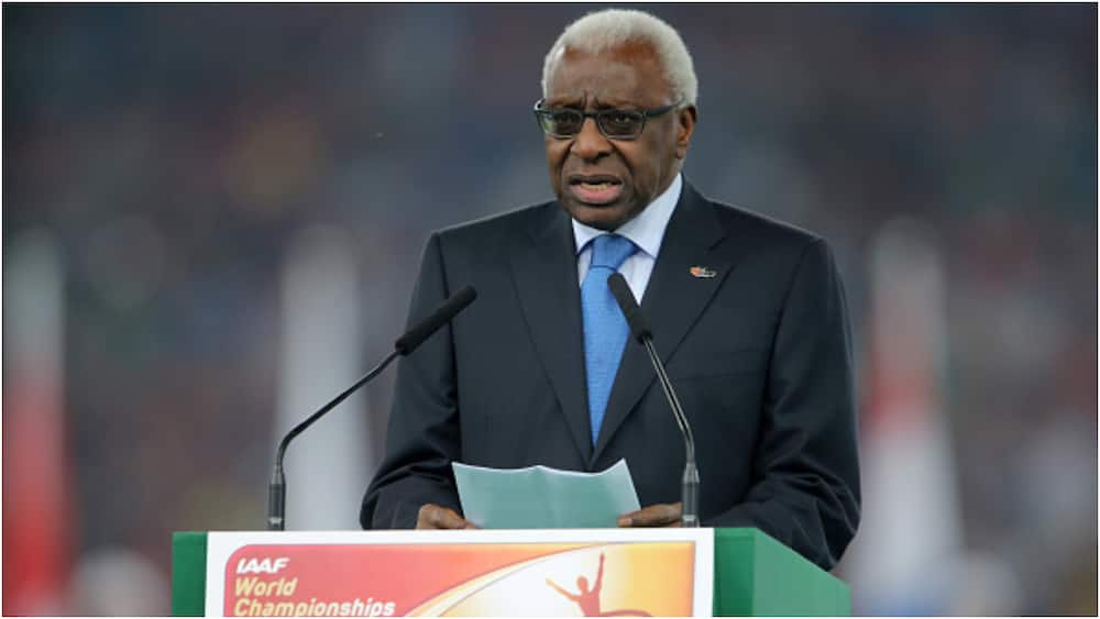 Lamine Diack, ex-IAAF boss, 87, sentenced to 2-years imprison corruption scandal