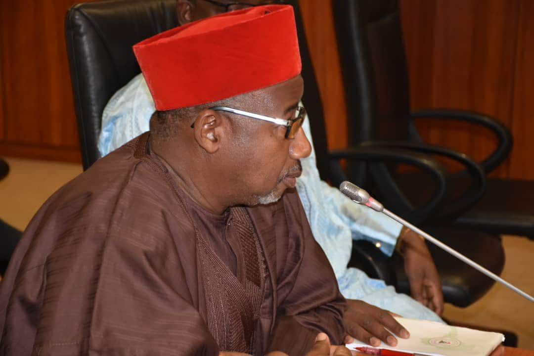 Gov Mohammed clarifies 'after God is Goodluck Jonathan' comment