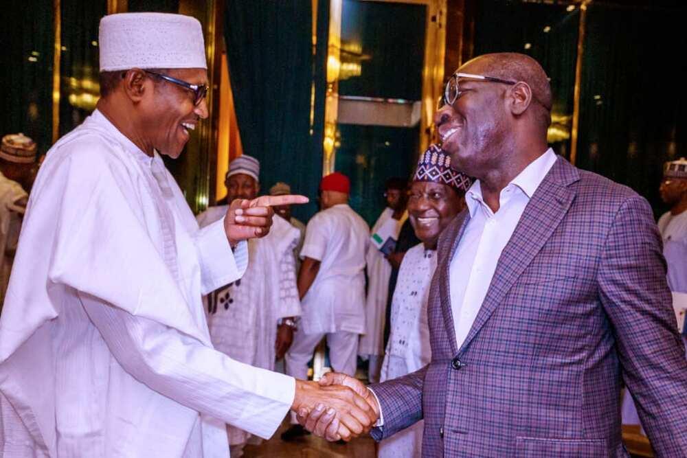 Yanzu yanzu: Buhari ya taya Obaseki murnar sake lashe zaben Edo
