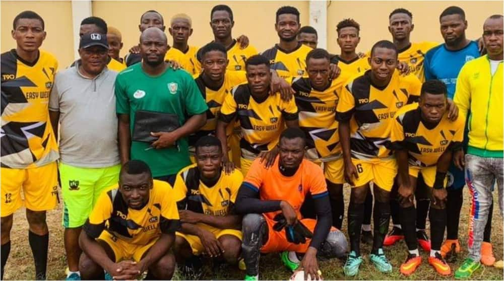Heartbreak As Driver Dies, Players Critically Injured As Nigerian Football Club Involved in Ghastly Accident