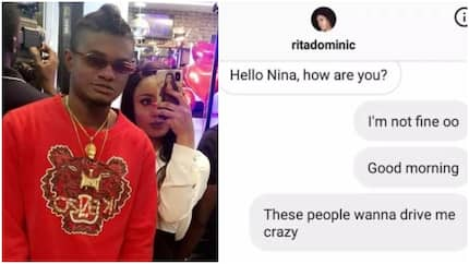 Nina's hacker releases Rita Dominic's personal number, she reacts