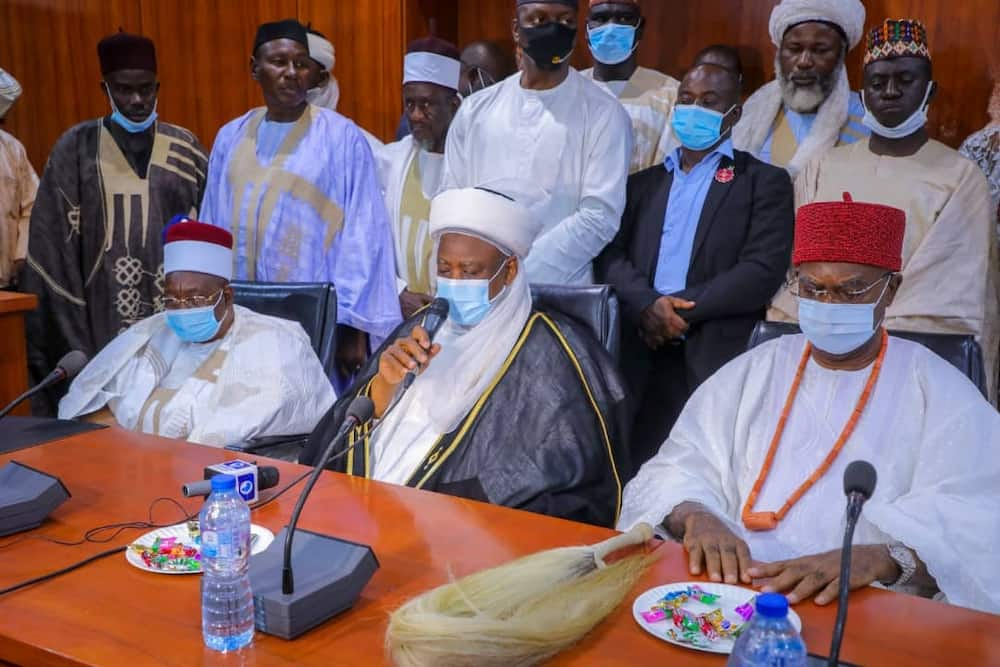 Boko Haram: Sultan, other prominent traditional rulers pay condolence visit to Governor Zulum