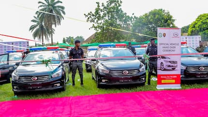 Edo state government donates 50 vehicles to the Nigeria Police Force