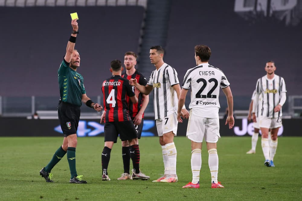Ronaldo Could End Up Playing Europa League Football Next Season As AC Milan Compounds Juventus' Woes