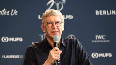 Jubilation as Arsenal legend Arsene Wenger linked with top European job this summer