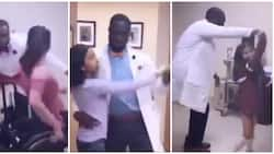 Meet the 42-year-old doctor who dances with any patient that comes for check-up
