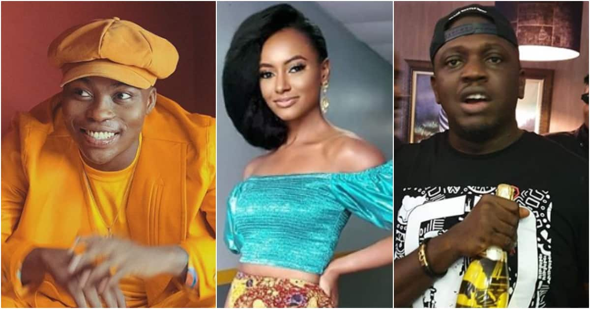 Simi Drey and IIIBliss tell Reekado Banks he is owing N12m in prank video