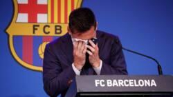 Da Dumi-Dumi: Bana Son Barin Barcelona, Messi Ya Fashe da Kuka Yayin Jawabin Bankwana