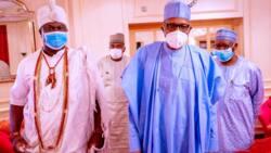 Yoruba Nation: Ooni of Ife reveals what Buhari told him about Sunday Igboho