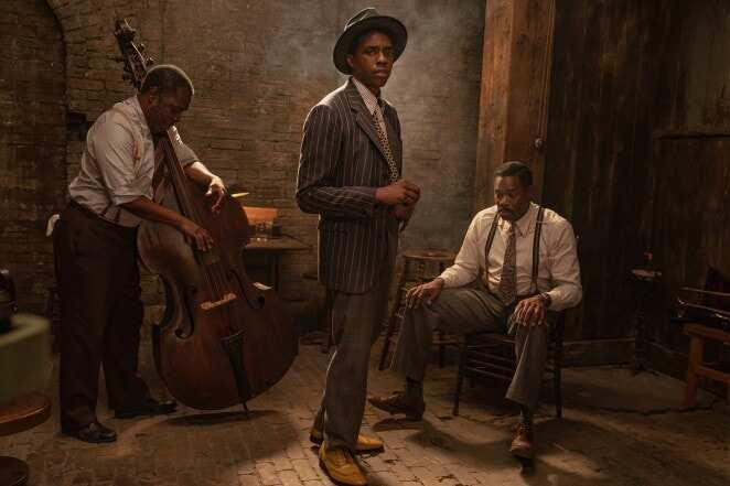 Netflix releases footage of Chadwick Boseman's last role on TV
