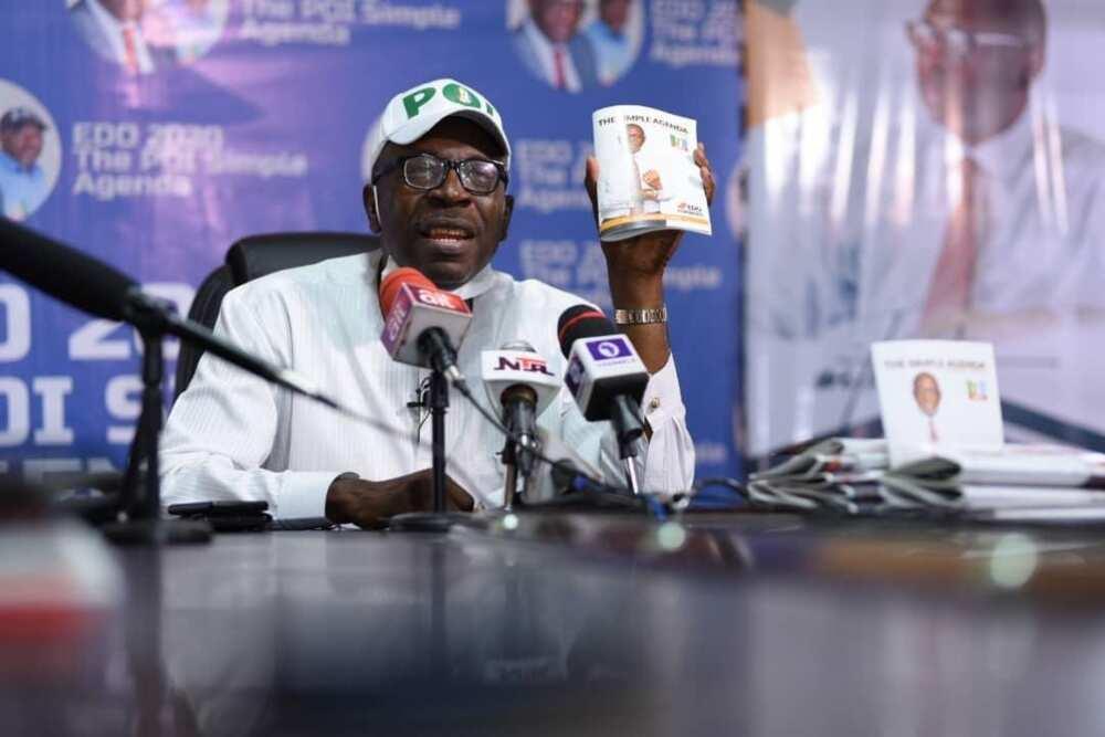 Obaseki bai ba mu N15bn kafin mu ba sa tikitin takaran jam'iyya ba – Inji PDP