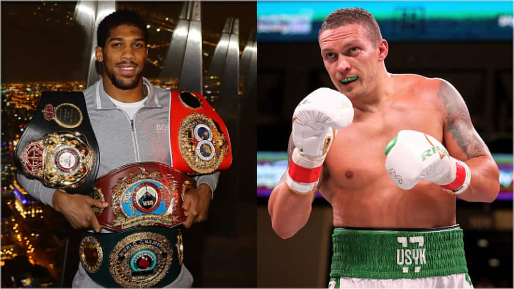 Anthony Joshua Told To Fight Mandatory Challenger or Lose Belt As Fury's Fight Cancelled