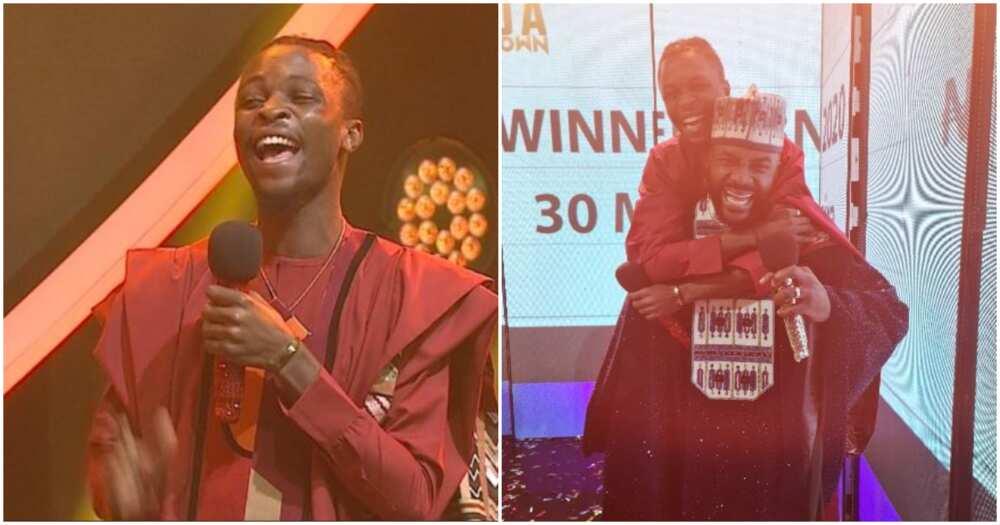 Ogun state governor Dapo Abiodun congratulates BBNaija winner Laycon
