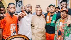 Nigerian man tells Davido not to celebrate half victory, says his uncle has not been declared winner