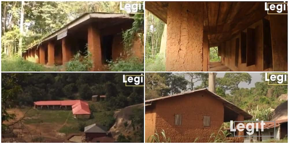 Photos of 125-year-old school in Nigeria built on a mountain by British Colonial Masters, it is still strong