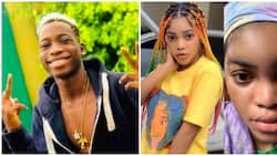 Lil Frosh's ex-girlfriend reacts after singer denied abusing her in new interview