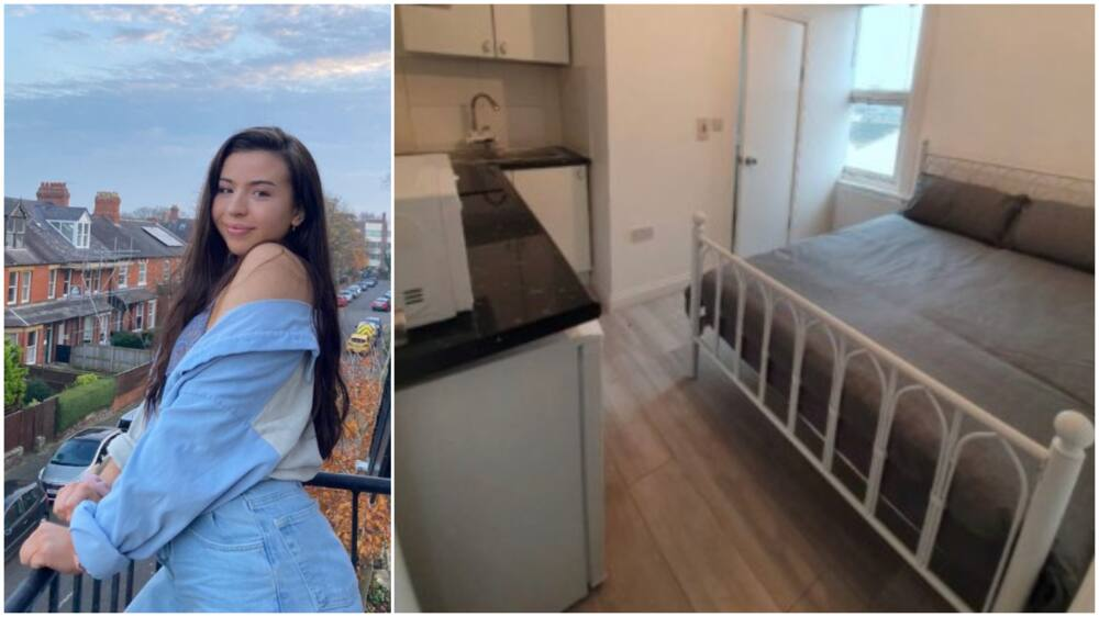 This apartment in London costs N425k in monthly rent - Lady says, photo causes frenzy online