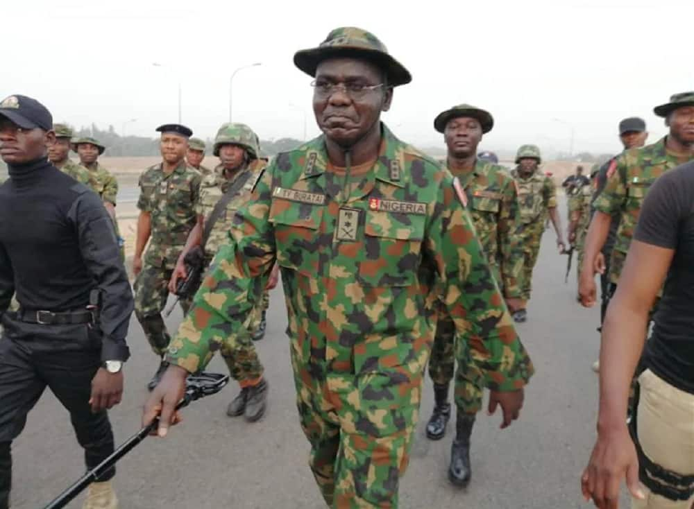 Insecurity: Buratai charges troops to wipe out remnants of bandits