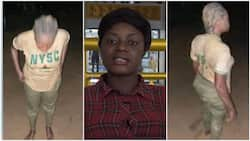 NYSC corps member who was dehumanised and embarrassed by female soldier finally speaks in video