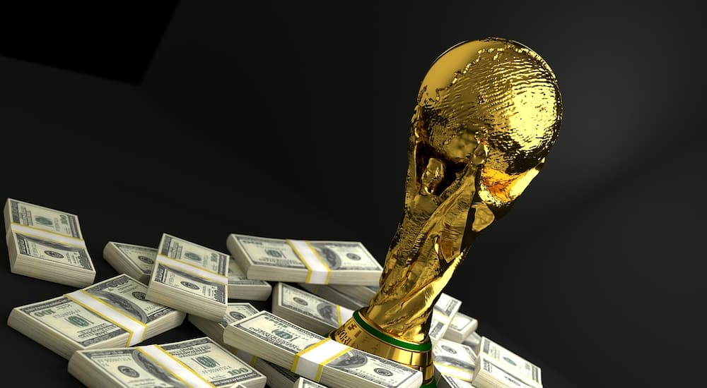 Football trophies and their worth