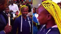 This has to stop - Lady says after pastor disgraces lady with colourful 'demonic hairstyle' (photos)