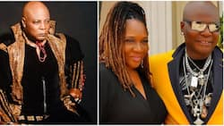 Exemplary couple: Sweet reactions as Charly Boy and wife celebrate 45th wedding anniversary