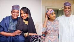 After 4 years of marriage, Zahra Buhari and husband celebrate anniversary (photo)