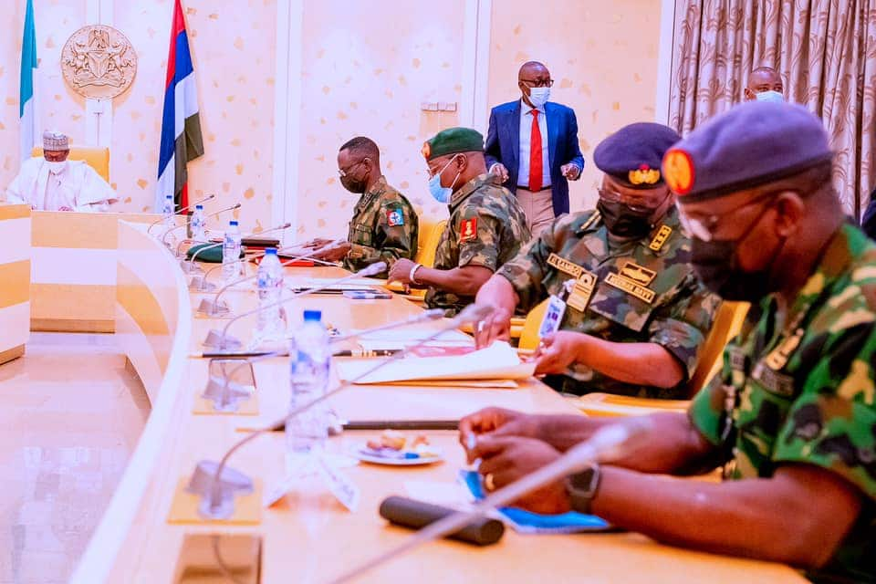 Why I appointed General Yahaya as COAS ahead of other superiors - President Buhari