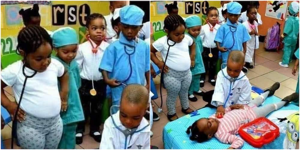 The kid doctors have caused quite a stir on social media