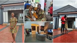 Comedian Little Emmanuella builds befitting home for mom, furnishes to taste with a promise of mansion in 2021