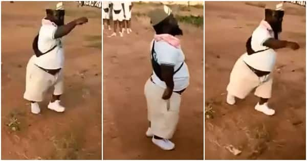 Dwarf corps member leads NYSC parade, wows onlookers (video)