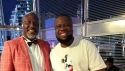 Former Nigerian senator reacts after his photo with fraudster, Hushpuppi resurfaces