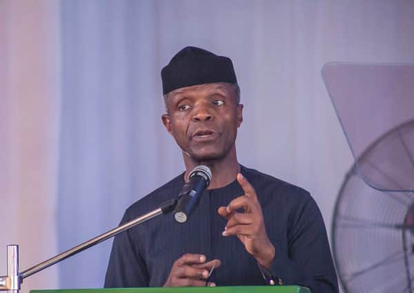 Be wary of social media reports on insecurity - Osinbajo tells Nigerians