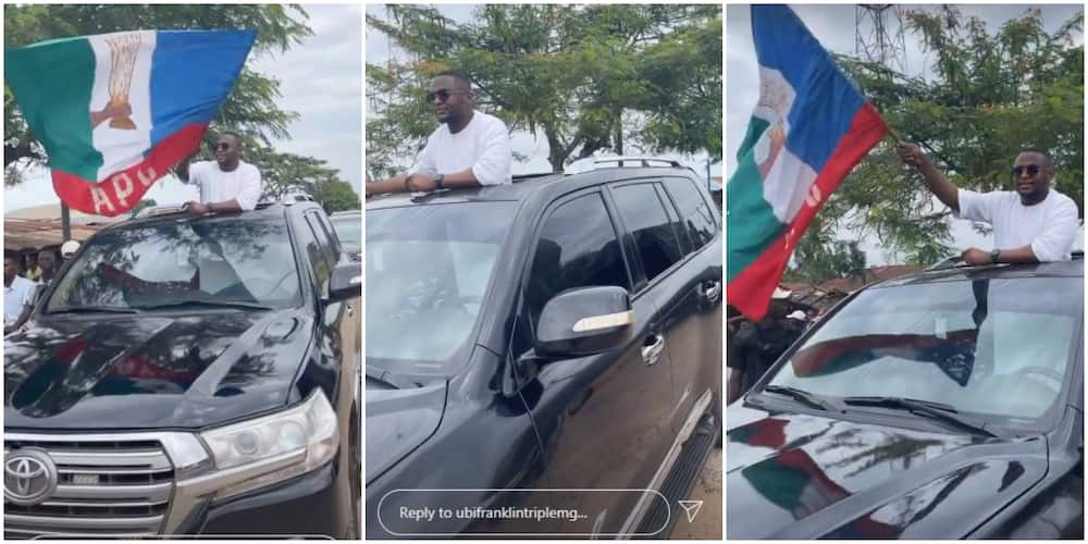 Music Executive Ubi Franklin Abandons PDP for APC, Stirs Mixed Reactions From Nigerians