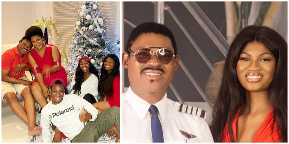 Omotola Jalade-Ekeinde Marks Daughter's Birthday, Hubby Leaves Work to Join Celebrant for Cute Photoshoot