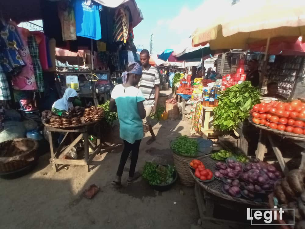 The market condition presently, is one that better explains the slow pace of business. Photo credit: Esther Odili