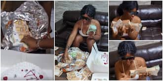 Social Media in Frenzy as Man Gifts Girlfriend N24m in Foreign Currency on Her Birthday