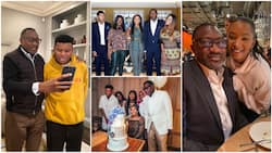 5 times Nigerian billionaire Femi Otedola showed he is a great father as he spends time with family