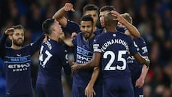 Clinical Man City produce stunning first-half display to beat tough opponent as they climb to 2nd on EPL table