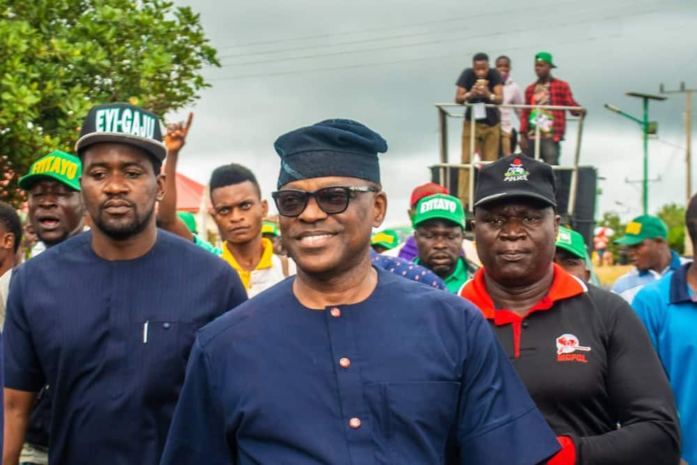 Ondo election: PDP's candidate Jegede reacts to INEC fire, says his fate in God's hand