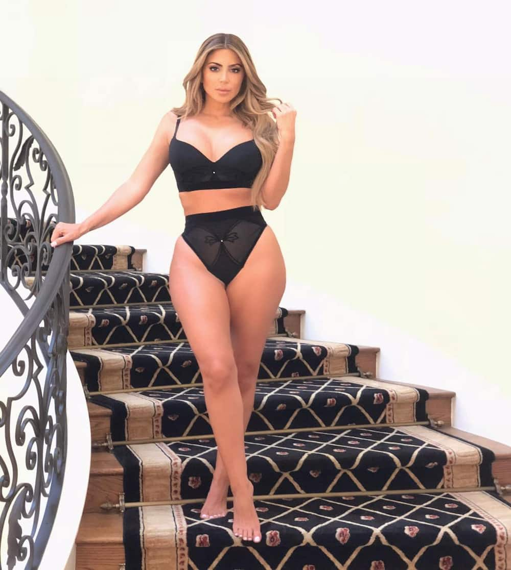 Larsa Pippen young