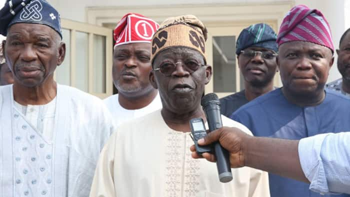 Tinubu reacts to allegations of bullion vans spotted at his Ikoyi residence