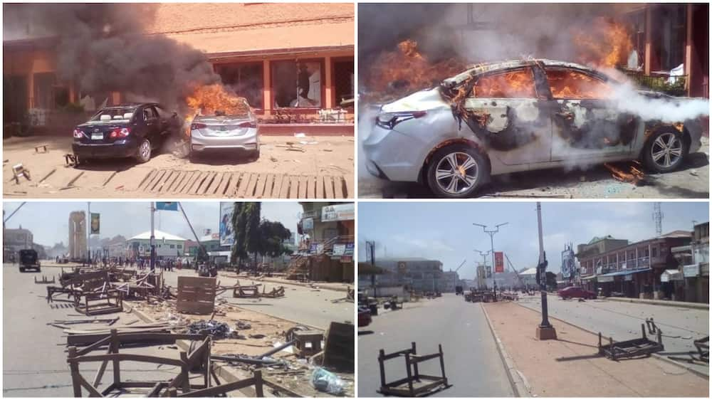 EndSARS: Shots fired at protest in Jos, residents flee