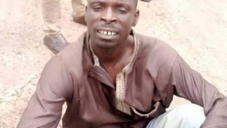 Hoton Hatsabibin Ɗan Bindigan Sokoto Da Aka Kama a Gidan Karuwai Bayan Shafe Shekaru Ana Nemansa Ruwa a Jallo