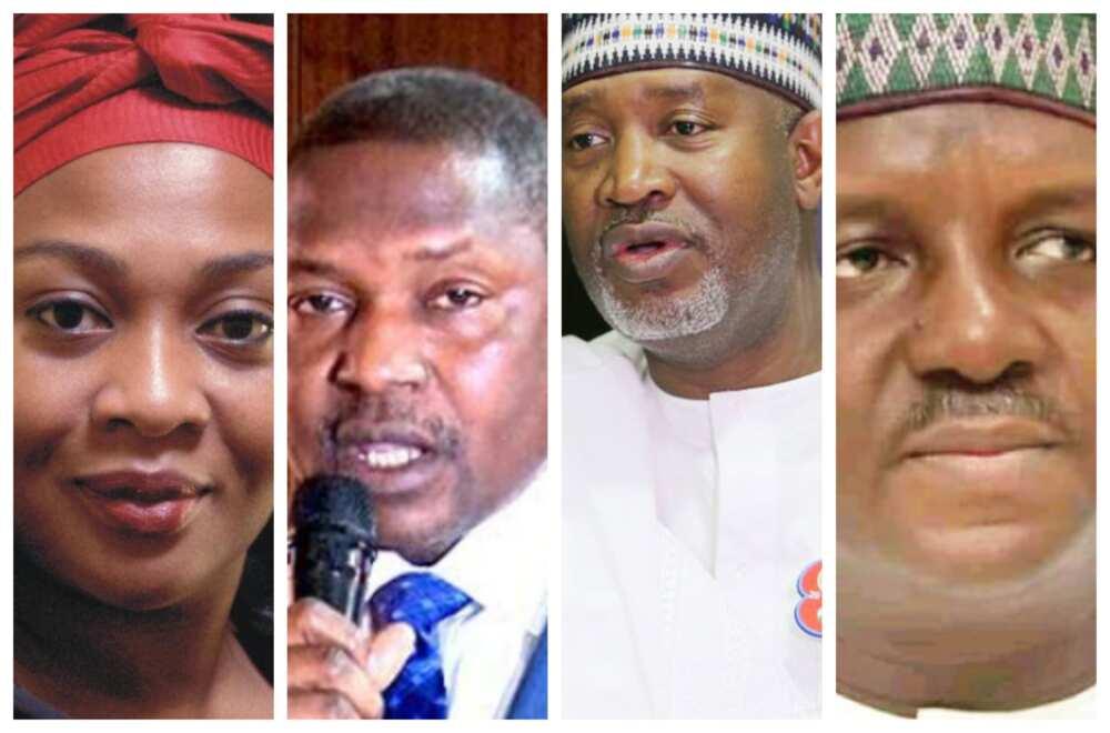 Ministocin Buhari 6 da za su iya ajiye mukamansu, su tafi takarar Gwamna a 2023