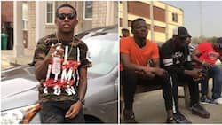 Top Nigerian singer Small Doctor arrested for allegedly threatening to shoot a policeman