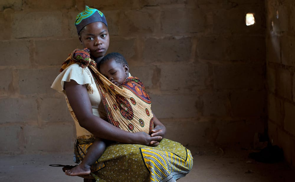 Youngest mother in Nigeria