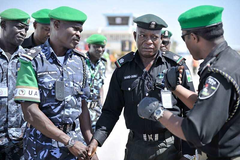 Nigerian police ranks