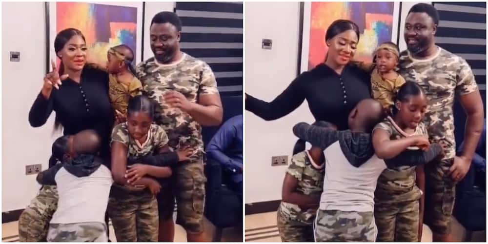 Mercy Johnson is a proud mum of four